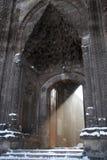 Haz luminoso de la entrada turca de la mezquita Fotos de archivo libres de regalías