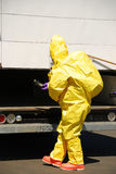 Haz Mat Entry Stock Photography