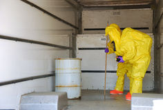 Haz Mat Entry Royalty Free Stock Images