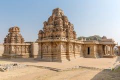 Hazara Rama świątynia, Hampi, Karnataka, India fotografia stock