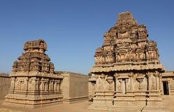 Hazara Rama Temple in Hampi, Karnataka, Indien UNESCO-Welt Heri Stockbild