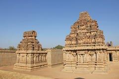 Hazara Rama Temple in Hampi, Karnataka, Indien UNESCO-Welt Heri Lizenzfreie Stockfotografie