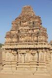 Hazara Rama Temple in Hampi, Karnataka, Indien UNESCO-Welt Heri Lizenzfreies Stockbild