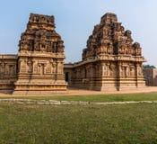 Hazararama寺庙,亨比,卡纳塔克邦,印度 库存图片