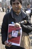 HAZARAS PROTEST AGAISNT AFGANISTAN IN DENAMRK Stock Photos