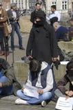 HAZARAS PROTEST AGAISNT AFGANISTAN IN DENAMRK Stock Photography