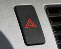 Hazard. Light button on an automobile dashboard royalty free stock photos