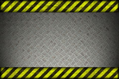 Hazard background. warning lines, black and yellow. Stock Photos