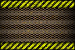 Hazard background. warning lines, black and yellow. Stock Photo