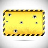 Hazard Board Stock Images