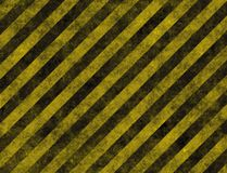 Hazard Danger Background. Texture With Common Black and Yellow Stripes Royalty Free Stock Photo