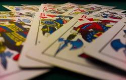 Hazard karty zdjęcia stock