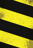 Hazard lines Royalty Free Stock Photo