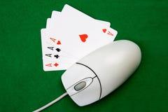 hazard online Zdjęcie Royalty Free