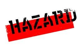 Hazard rubber stamp Stock Photos