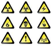 Hazard Sign Stock Image