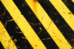 Hazard stripes Stock Photo