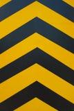 hazard stripes Royalty Free Stock Photography