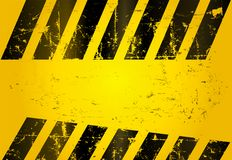 Hazard stripes Royalty Free Stock Photos