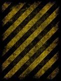 Hazard stripes Royalty Free Stock Image