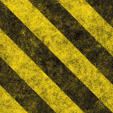 Hazard Stripes Stock Image