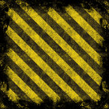 Hazard Stripes Royalty Free Stock Photo