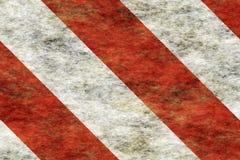 Hazard Stripes. Red Hazard Stripes grunge background stock illustration