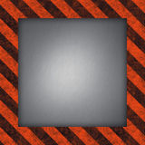 Hazard Stripes Frame Stock Images