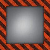 Hazard Stripes Frame Stock Images