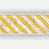 Hazard stripes steel Royalty Free Stock Image