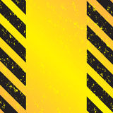 Hazard Stripes Vector Royalty Free Stock Image