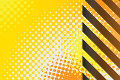 Hazard Stripes Vector royalty free illustration