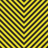 Hazard Stripes Vector royalty free stock images