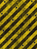 Hazard stripes warning sign stock photos