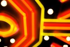 hazard tła neon Zdjęcia Stock