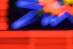hazard tła neon Obrazy Stock