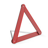 Hazard triangle Royalty Free Stock Photos