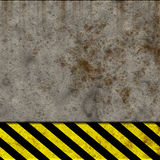 Hazard wall Royalty Free Stock Photo