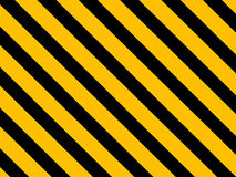 Hazard warning lines Royalty Free Stock Photography