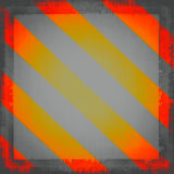 Hazard, Warning Sign Royalty Free Stock Photos