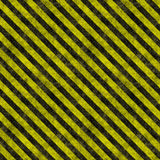 Hazard warning stripes Royalty Free Stock Photos