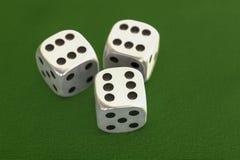 Hazard z wiele kostka do gry ilustracji