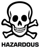 Hazardous Royalty Free Stock Photos