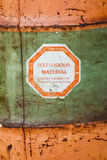 Hazardous Material Royalty Free Stock Image