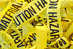 Hazardous Material Tape Stock Photos