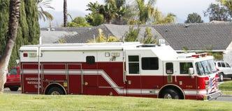 Hazardous materials response truck Royalty Free Stock Images