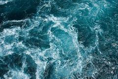 Malta and Gozo islands as tourist destinations. Hazardous swirl on the mediterranean sea Royalty Free Stock Photos