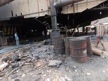 Hazardous waste Stock Image