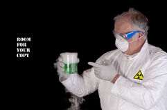 Hazardous work Stock Photo