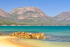 The Hazards - Freycinet National Park royalty free stock images